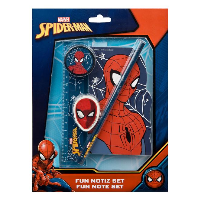 Spiderman - Schreibset - 5teilig