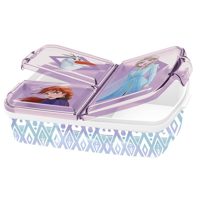 Die Eiskönigin 2 - Brotdose - weiß/violett