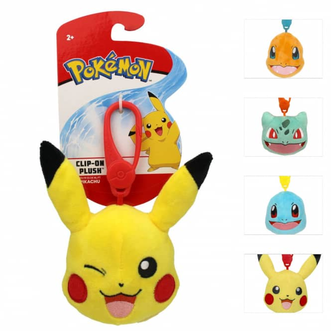 Pokémon - Plüsch Clip-On - 1 Stück