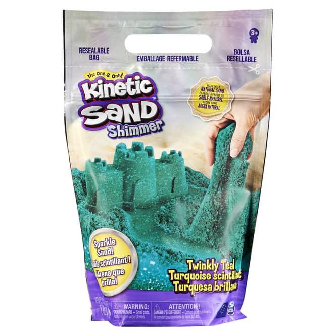 Kinetic Sand - Glitzersand - Petrol