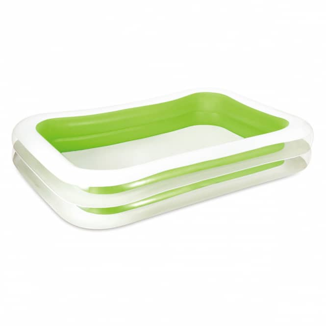 Pool - Family Deluxe - weiß-grün