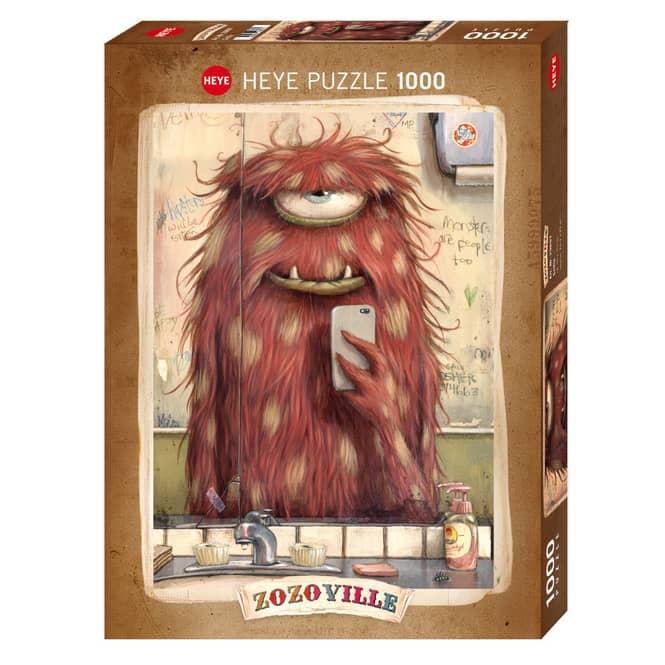 HEYE Puzzle - Zozoville - Selfie - 1000 Teile