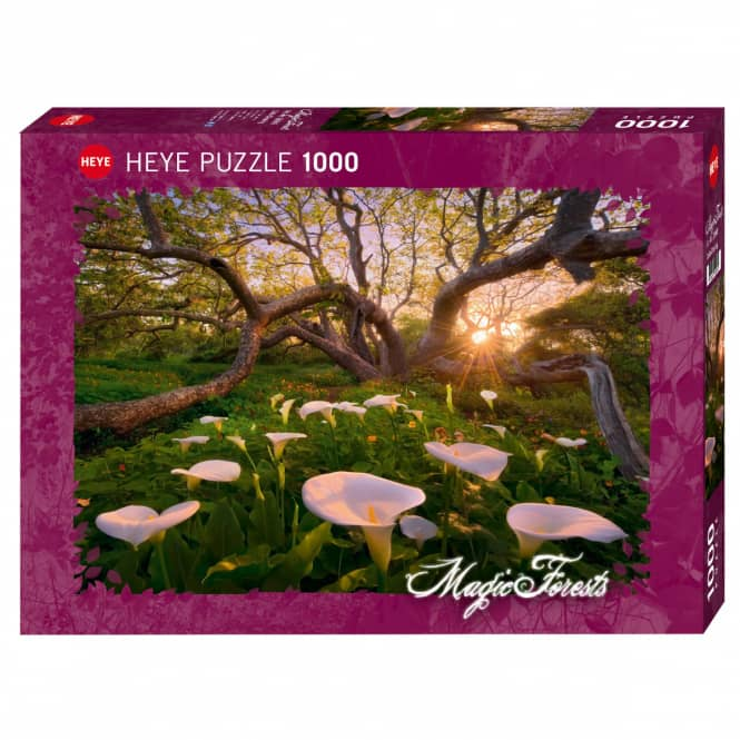HEYE Puzzle - Magic Forests - Calla Claering - 1000 Teile