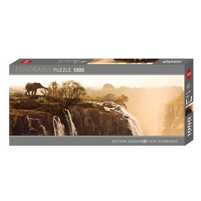 HEYE Panorama Puzzle - Elephant - 1000 Teile