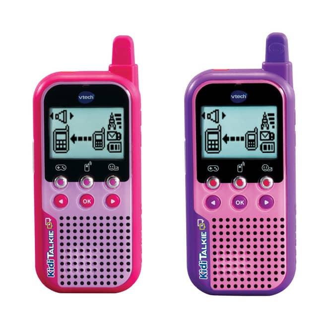 VTech - KidiTalkie - pink und lila