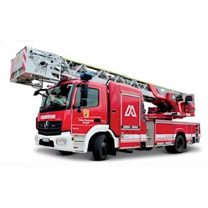Feuerwehrleiterfahrzeug - Modellfahrzeug - Magirus DLK 23/12 - 1:50
