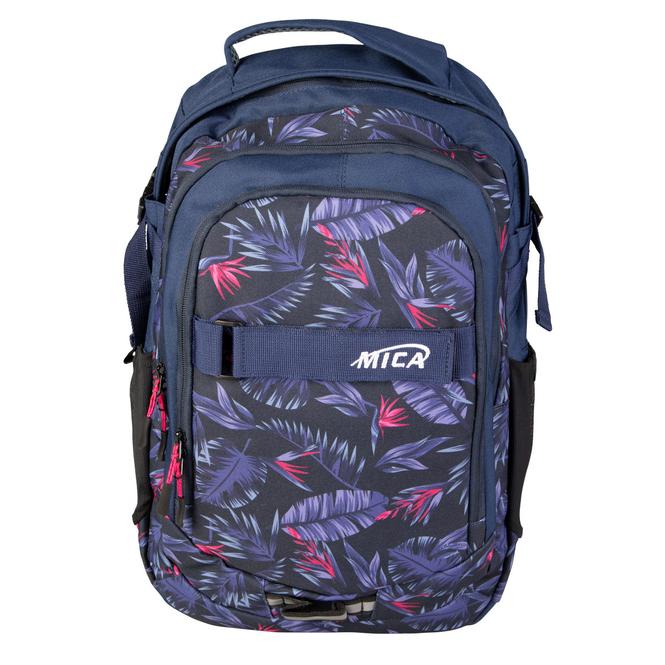 MICA - Rucksack  - in blau/pink