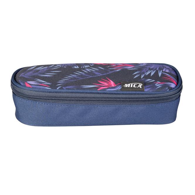 MICA - Schlamperetui - in blau/pink