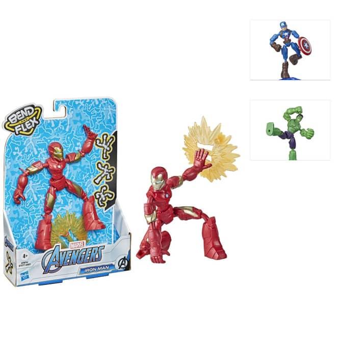 Marvel Avengers - Bend and Flex - Actionfigur - 1 Stück