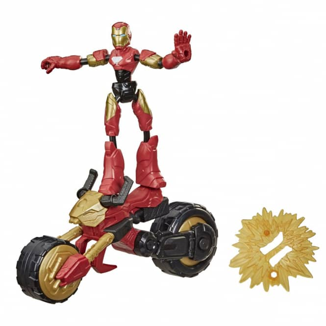 Marvel Avengers - Bend and Flex - Actionfigur - Flex Rider Iron Man