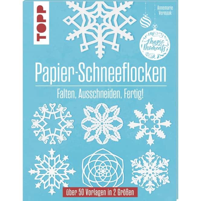 Papier-Schneeflocken - Bastelbuch