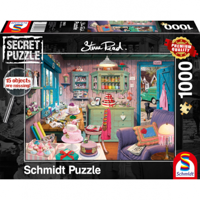 Puzzle - Großmutters Stube - 1000 Teile