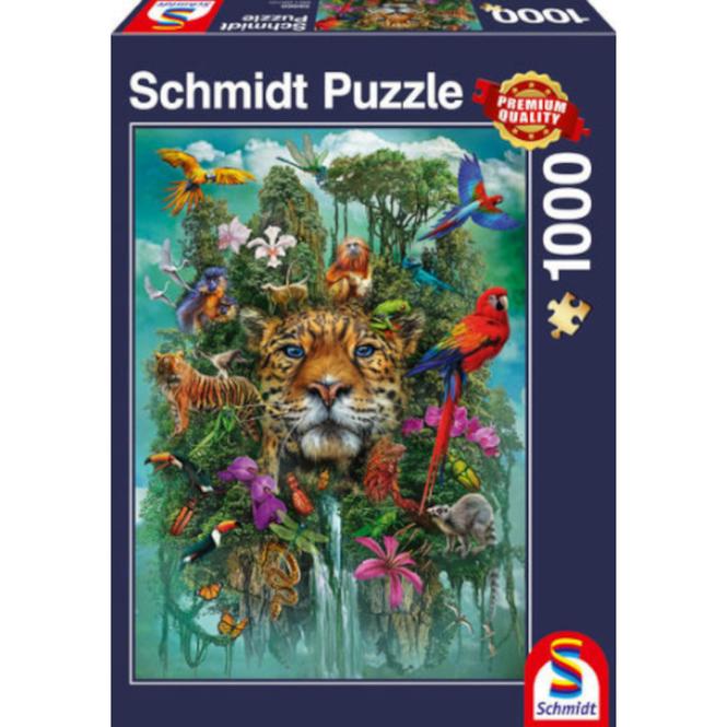 Puzzle - König des Dschungels - 1000 Teile