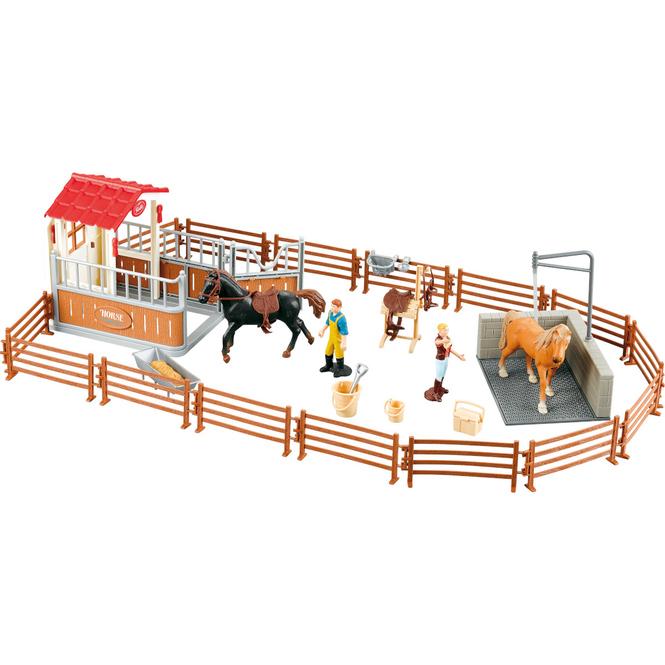 Besttoy - Pferdekoppel mit Zaun und Zubehör