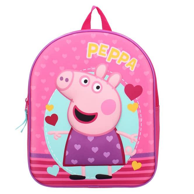 Peppa Wutz - 3D-Kinderrucksack - pink