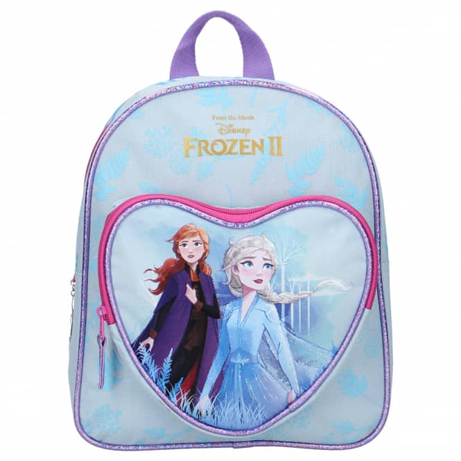 Die Eiskönigin 2 - Kinderrucksack mit Herztasche - Anna und Elsa