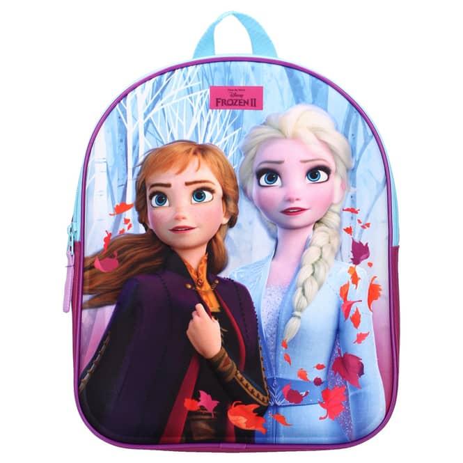Die Eiskönigin 2 - 3D-Kinderrucksack - Anna und Elsa