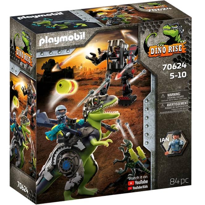 Playmobil® 70624 - T-Rex: Gefecht der Giganten - Playmobil® Dino Rise