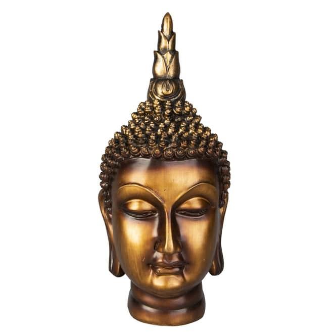 Buddha - aus Polyresin - ca. 12,5 x 11 x 24 cm