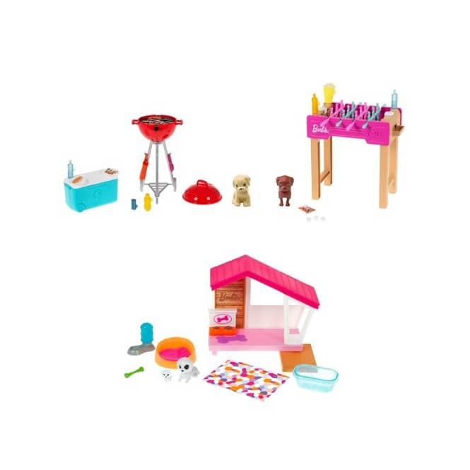 Barbie - Mini Spielset mit Tier - 1 Stück