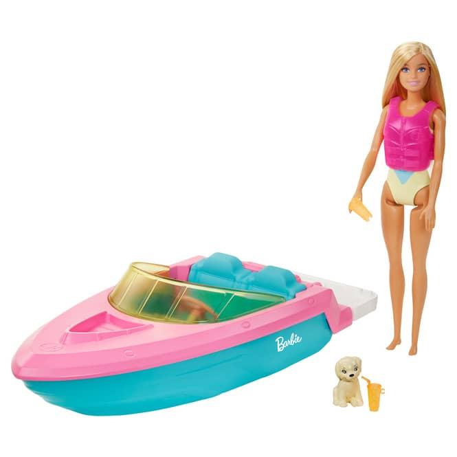 Barbie - Puppe mit Boot
