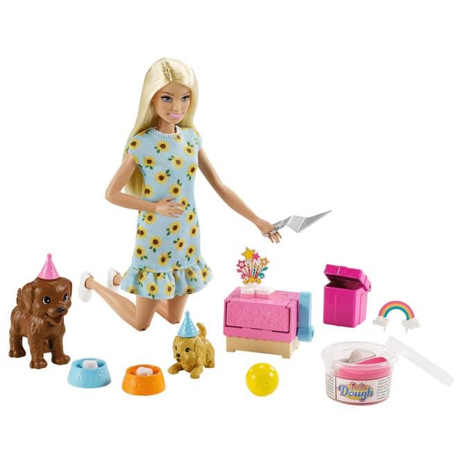 Barbie - Hunde-Party Spielset