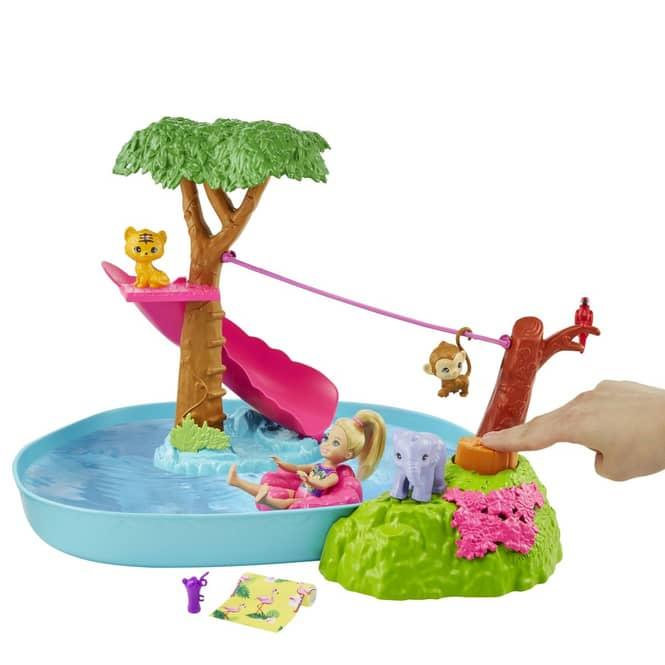 Barbie - Chelsea und der verrückte Geburtstag  - Dschungelparty Spielset