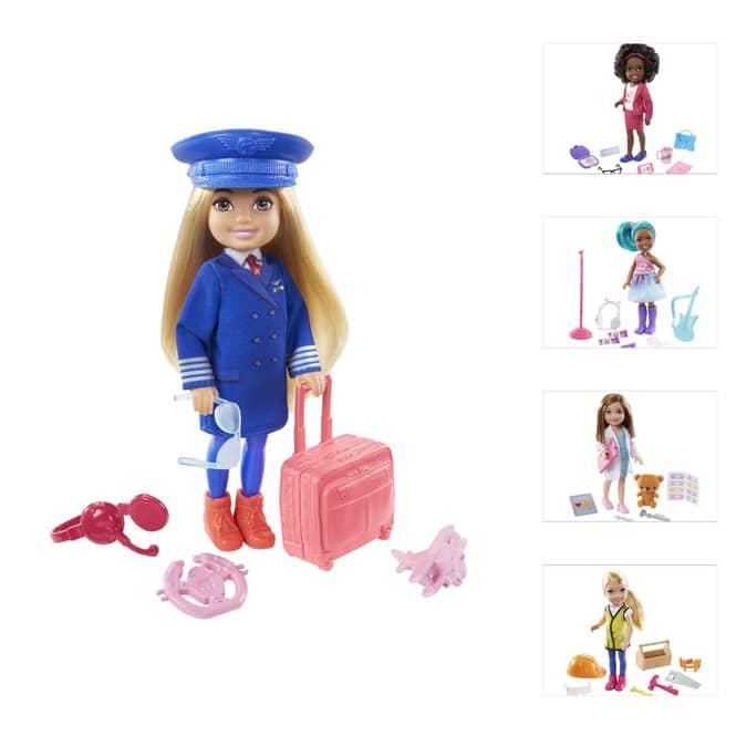 Barbie - Chelsea kann alles sein - Karriere Spielset - 1 Stück