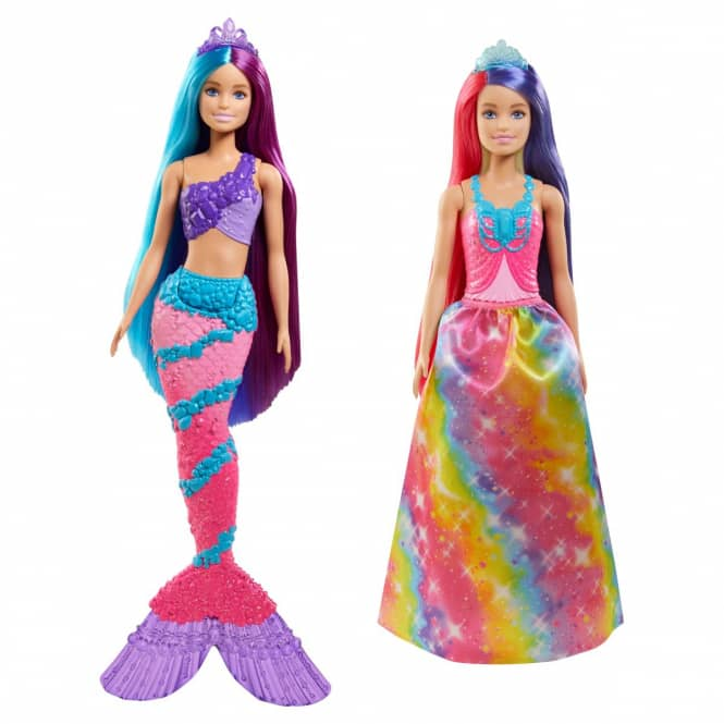 Barbie Dreamtopia - Regenbogenzauber Meerjungfrau - 1 Stück