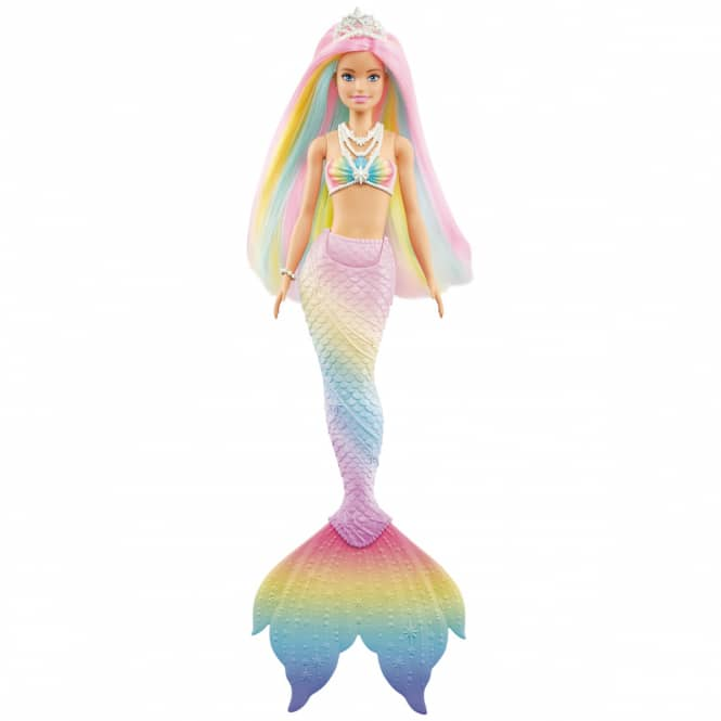 Barbie Dreamtopia - Regenbogenzauber Meerjungfrau mit Farbwechsel