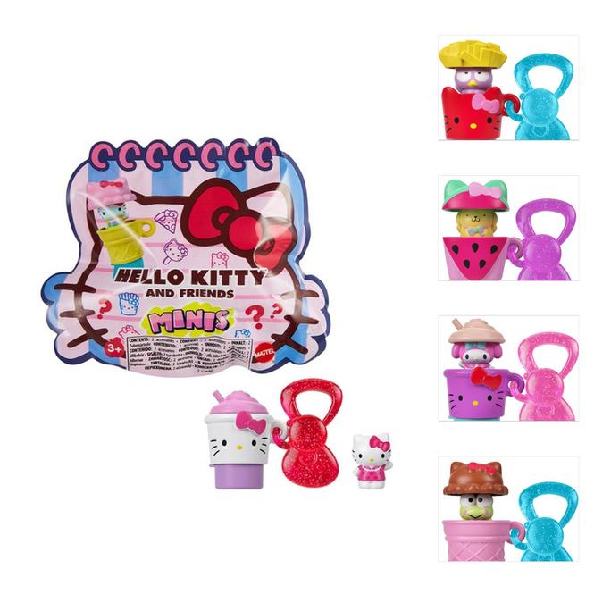 Hello Kitty & Friends - Mini Figur - Schlüsselanhänger - 1 Stück