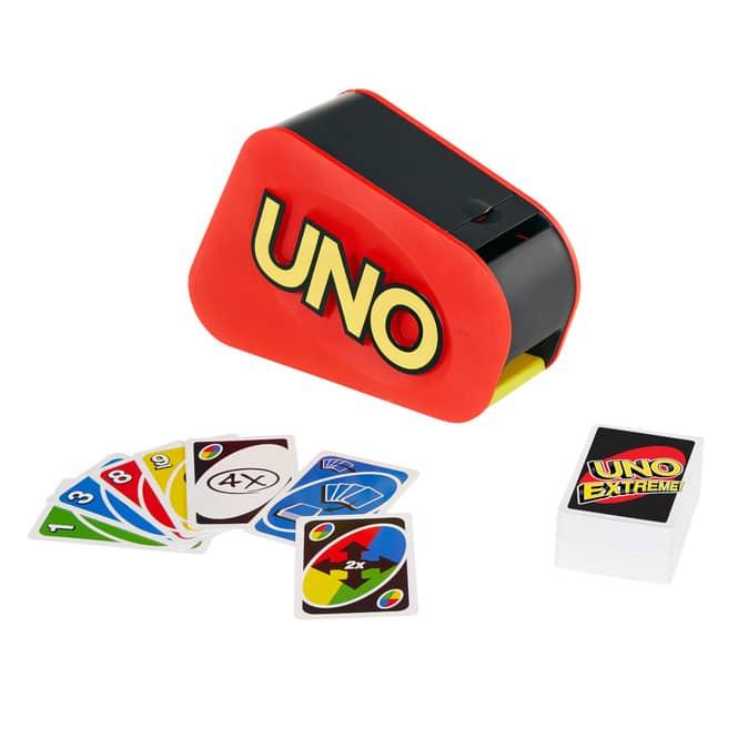 Uno Extreme - Mit Lichtern und Geräuschen