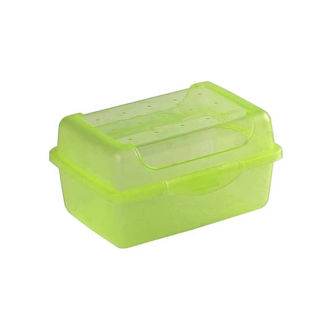 Brotdose - grün - 11 x 7,5 x 6 cm