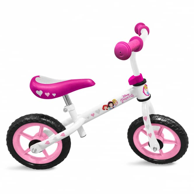 Disney Princess - Laufrad - weiß/rosa