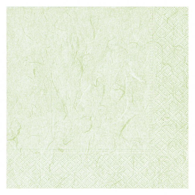 20 Servietten - grün - ca. 33 x 33 cm