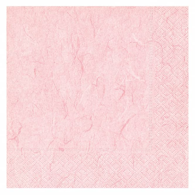 20 Servietten - rosa - ca. 33 x 33 cm