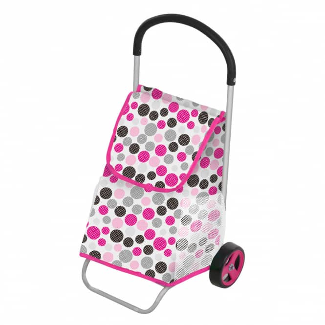 Hauck - Shopping Trolley - grau mit Punkten