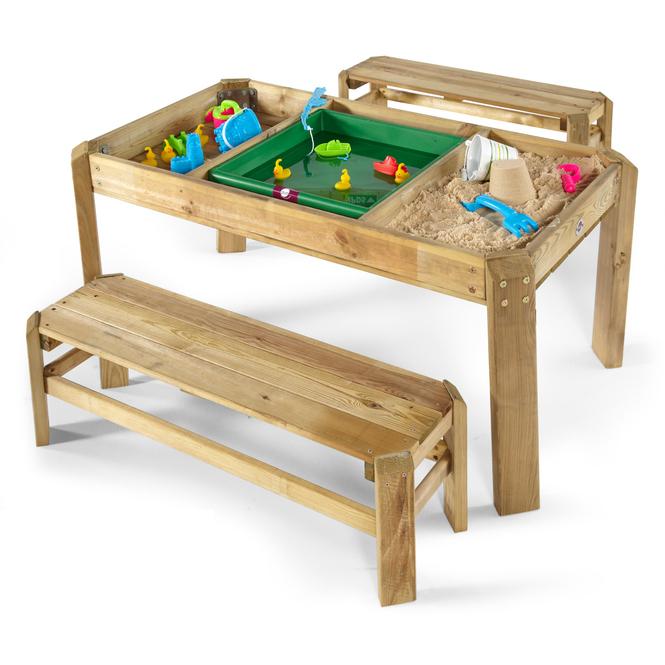 Plum - Spieltisch - Activity mit Bänken