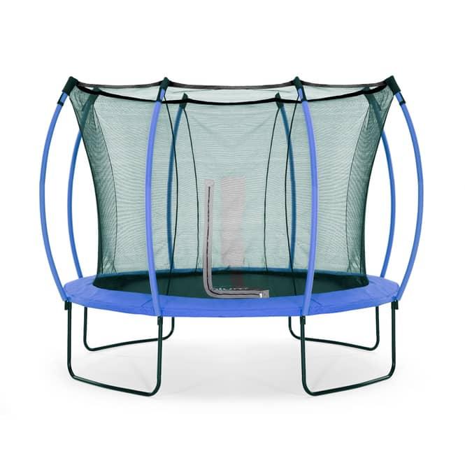 Plum - Springsafe Trampolin Colours mit Sicherheitsnetz - 305 cm - blau