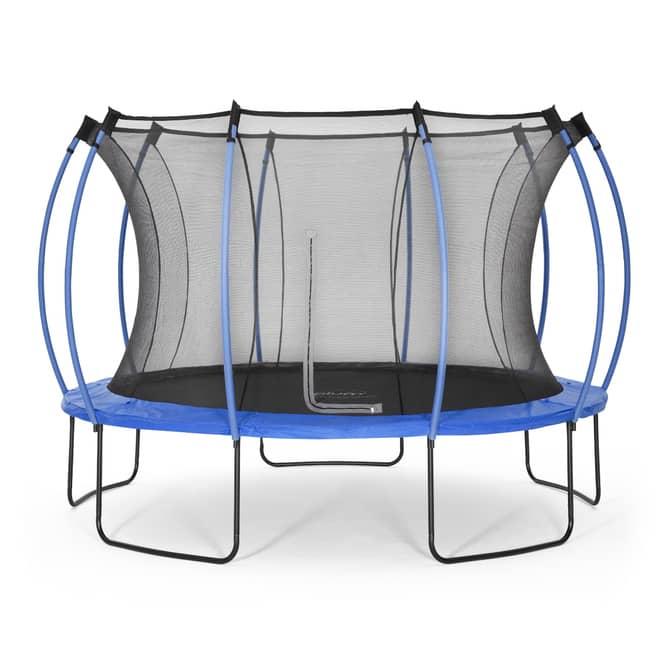 Plum - Springsafe Trampolin Colours mit Sicherheitsnetz - 366 cm - blau