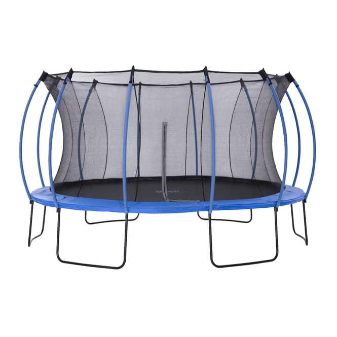 Plum - Springsafe Trampolin Colours mit Sicherheitsnetz - 426 cm - blau