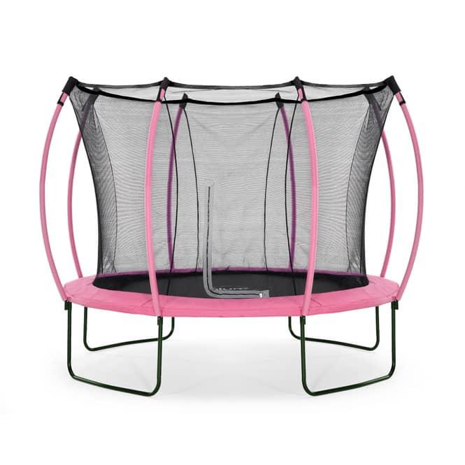 Plum - Springsafe Trampolin Colours mit Sicherheitsnetz - 305 cm - pink