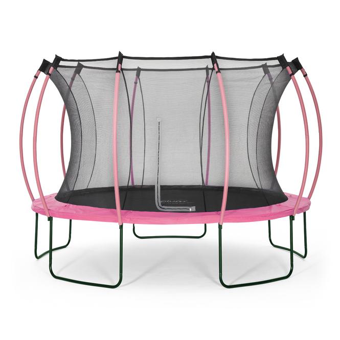 Plum - Springsafe Trampolin Colours mit Sicherheitsnetz - 366 cm - pink