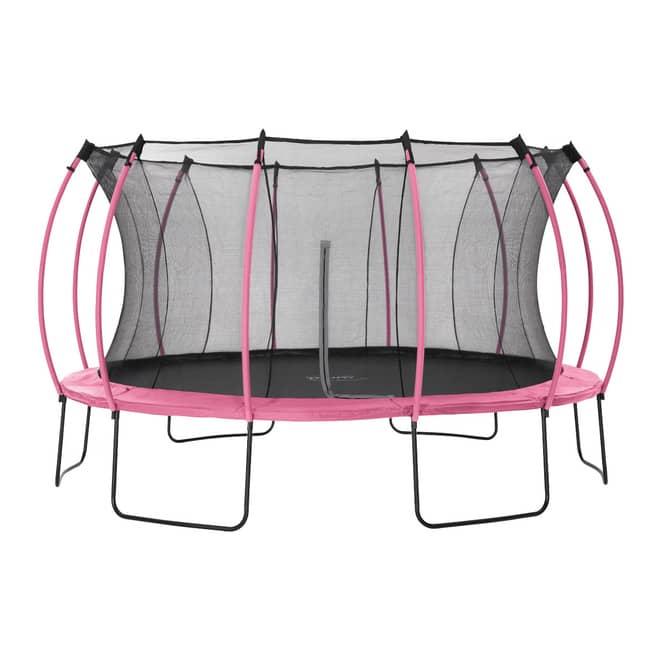 Plum - Springsafe Trampolin Colours mit Sicherheitsnetz - 426 cm - pink
