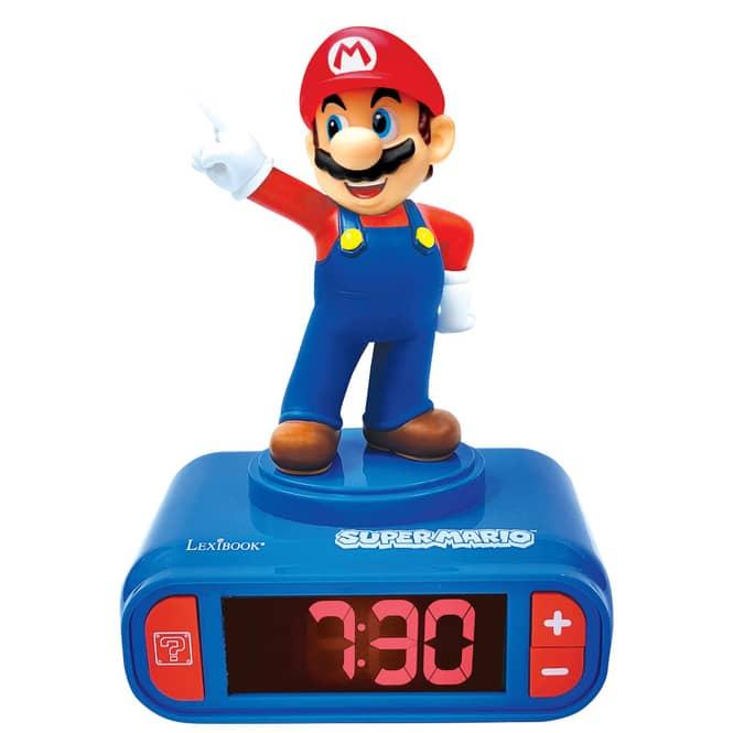 Nintendo - Super Mario - Wecker für Kinder