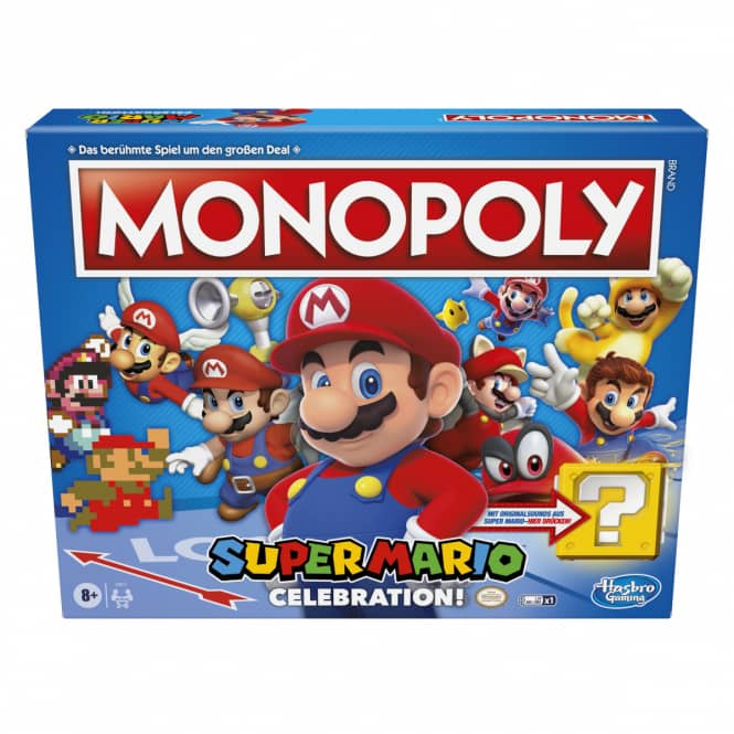 Monopoly - Super Mario Celebration - Hasbro Gaming