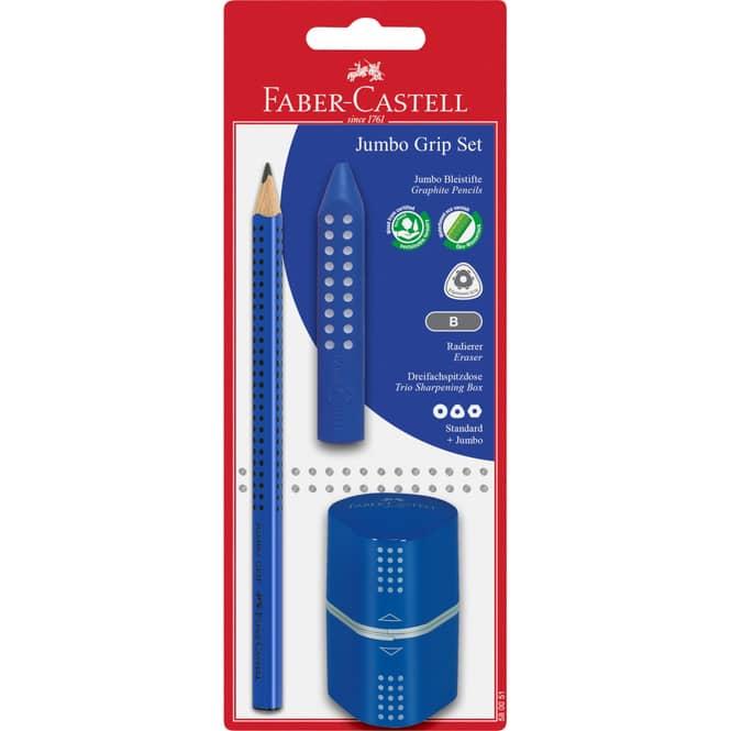 Faber-Castell - Jumbo Grip Set - blau