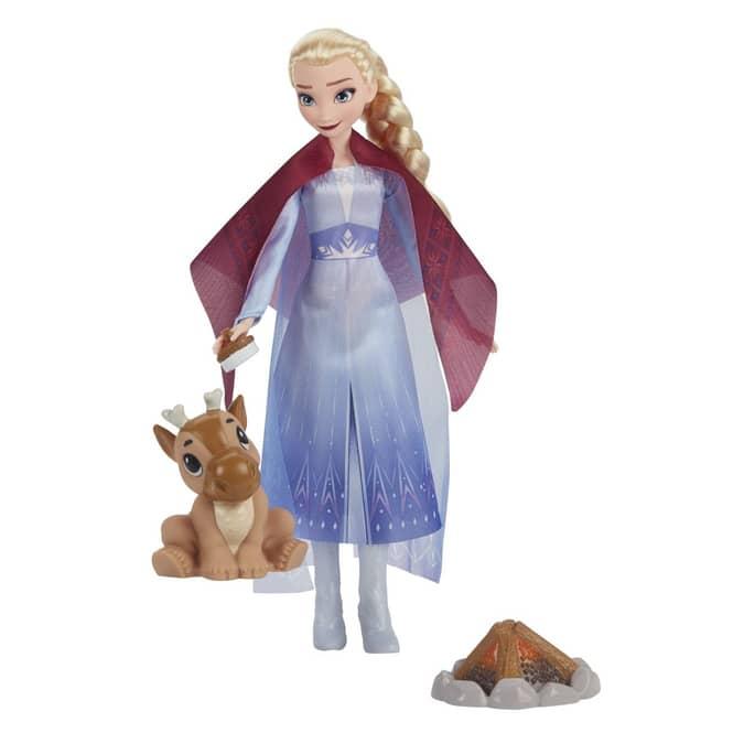 Die Eiskönigin 2 - Spielset - Elsas gemütliches Lagerfeuer