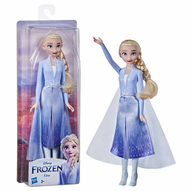 Die Eiskönigin 2 - Schimmerglanz Elsa - Modepuppe