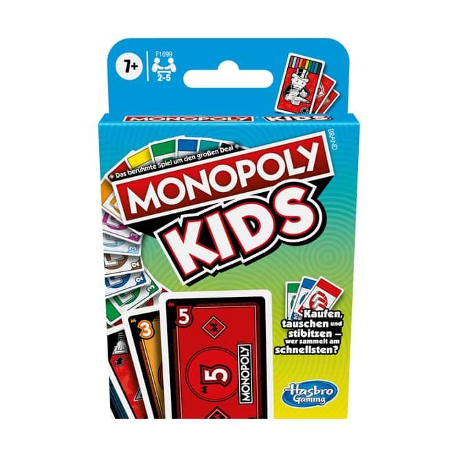 Monopoly KIDS - Kartenspiel - Hasbro Gaming